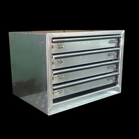 4 Drawer Unit 680x520x520