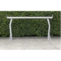 Rear Ladder Rack 76mm Satin 'Trademans'