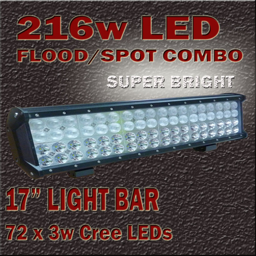 LED Light Bar 216W